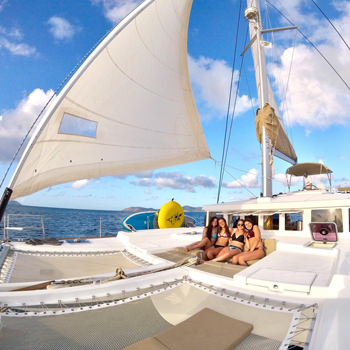 Crewed charter in the Exumas