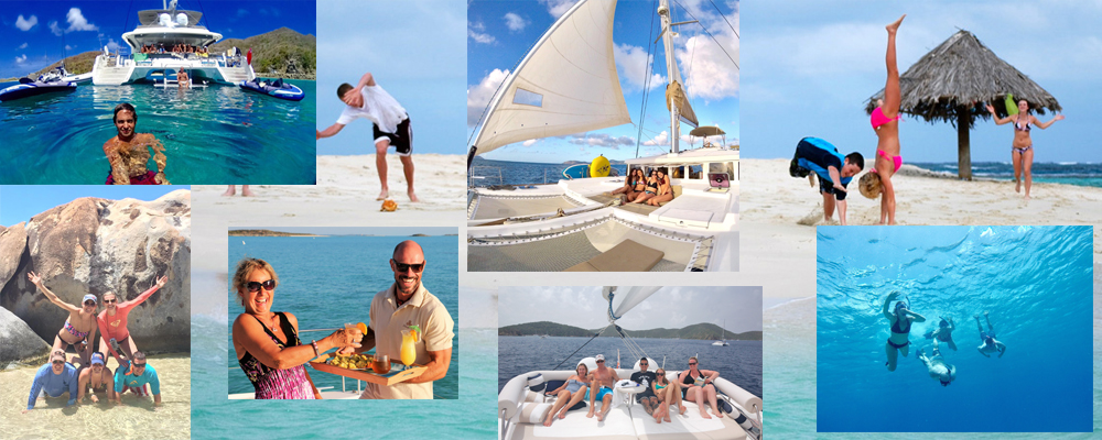 Activities available aboard charter yachts in the Virgin Islands
