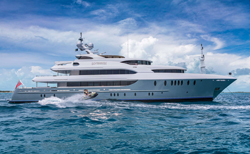 crewed power yacht charter