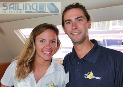More Amore Crewed Catamaran Charter Virgin Islands