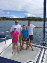 Steppin Up Crewed Yacht Charter
