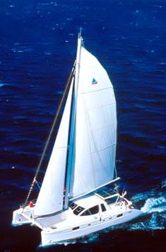 Catamaran Aurora, Virgin Islands