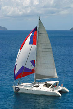 Catamaran Braveheart, Virgin Islands