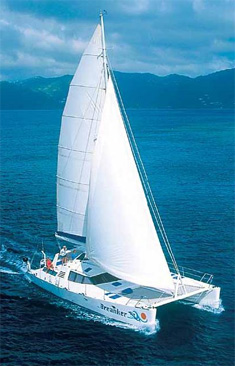 Catamaran Breanker, Virgin Islands