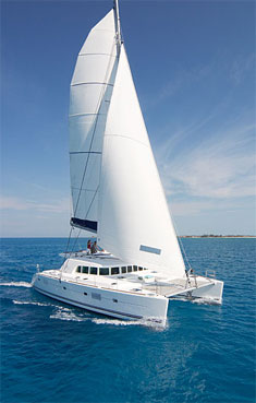 Catamaran Charme, Virgin Islands