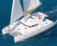 Catamaran Tonina, Virgin Islands