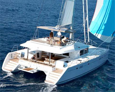 Catamaran Copper Penny, Virgin Islands
