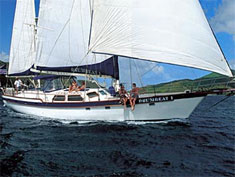 Monohull Drumbeat 1, St. Thomas