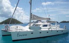 Catamaran Encore, Virgin Islands