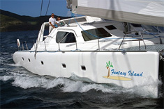 Sailing Catamaran Fantasy Island, Virgin Islands