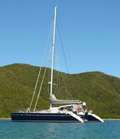 Catamaran Felicia, Virgin Islands