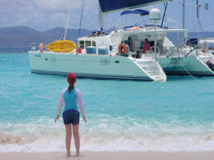 Catamaran Hypnautic, Virgin Islands