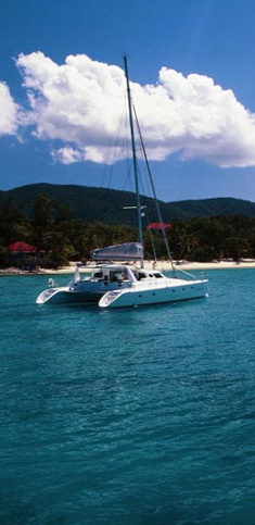 Catamaran Infinity, Virgin Islands