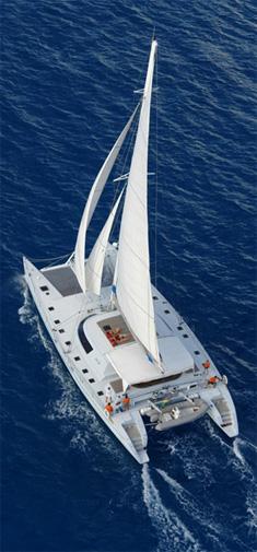Catamaran Lone Star, Virgin Islands