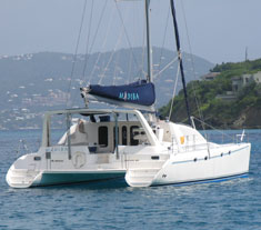Catamaran Madiba, Virgin Islands