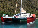 Caribbean Virgin Islands Catamaran Charter