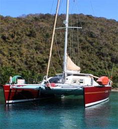 Catamaran Priorities, Virgin Islands