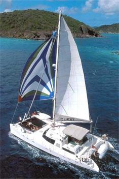 Catamaran Quest, Virgin Islands