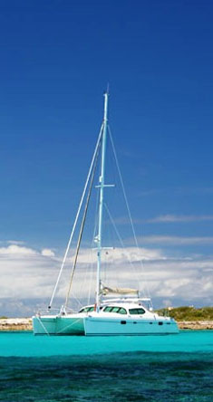 Sailing Catamaran Sagaponack, East & West Med