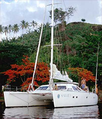 Catamaran Sea Prize, Virgin Islands