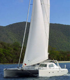 Sailing Catamaran Secret Oasis, Tortola, BVI