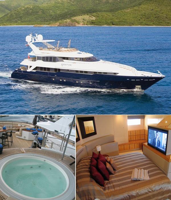 Sedation Luxury Charters