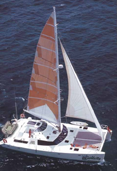 Catamaran Shellette, Virgin Islands