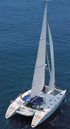 Catamaran Soterion, Virgin Islands