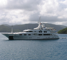 Motor Yacht Starfire, Virgin Islands