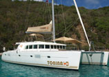 Tonina Charter BVI Catamaran Rental