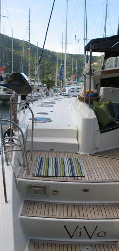 Catamaran Vivo, Virgin Islands