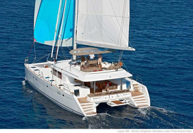 A2 Crewed Catamaran Charter
