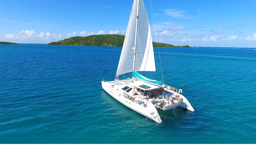 Adastra Crewed Catamaran Charter