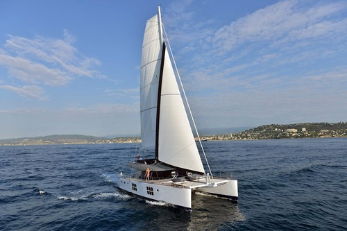 Adea Crewed Catamaran Charter