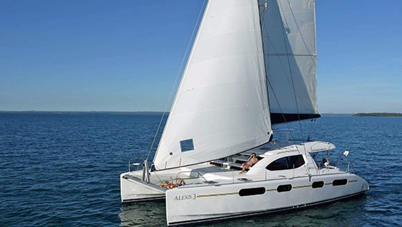 Alexis 3 Crewed Catamaran Charter