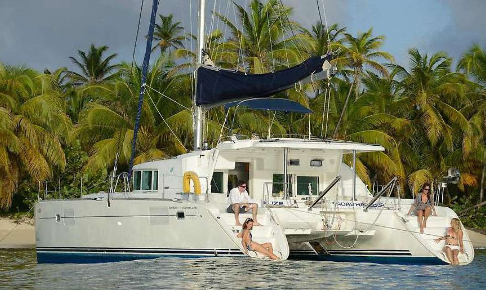 Alize Crewed Catamaran Charter