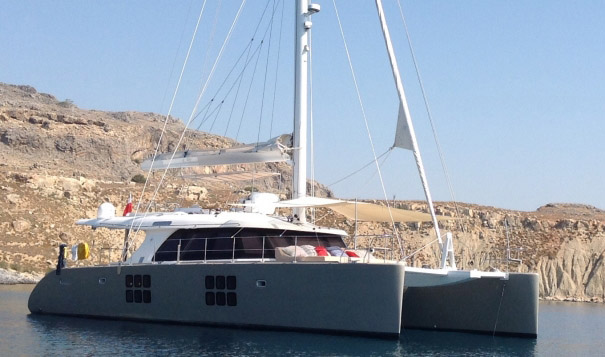 All View Crewed Catamaran Charter
