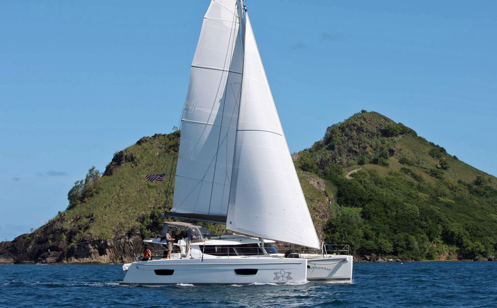 Allende Crewed Catamaran Charter