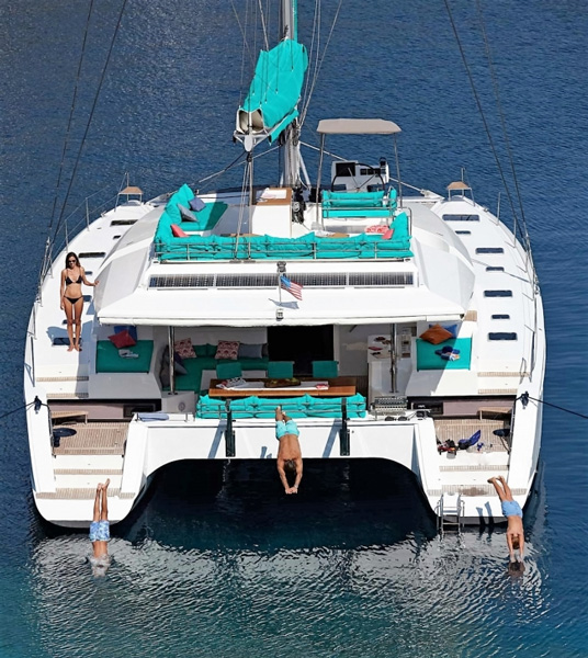 Amara Crewed Catamaran Charter