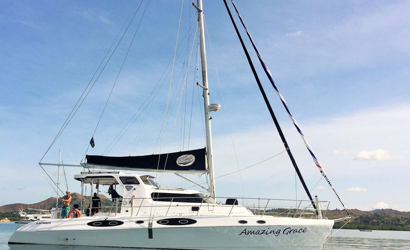 Amazing Grace Crewed Catamaran Charter