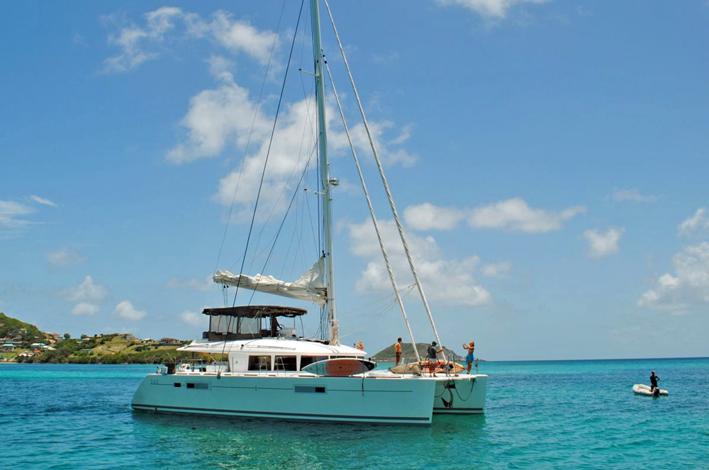 Amazing Lady Crewed Catamaran Charter