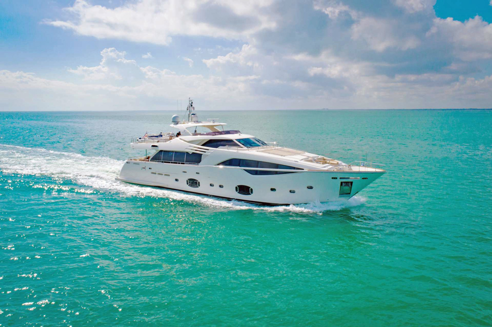 Amore Mio Crewed Power Yacht Charter