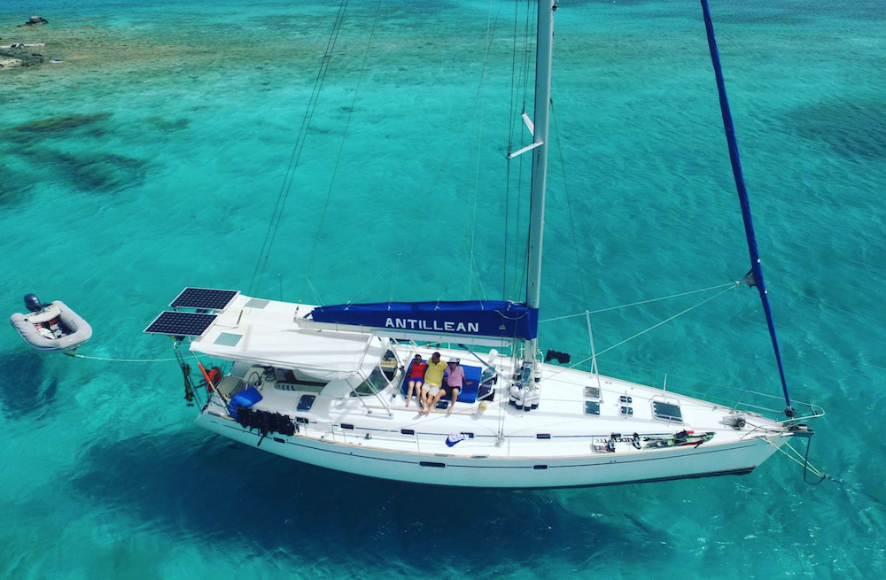 Sailing ship charter bahamas virgin islands