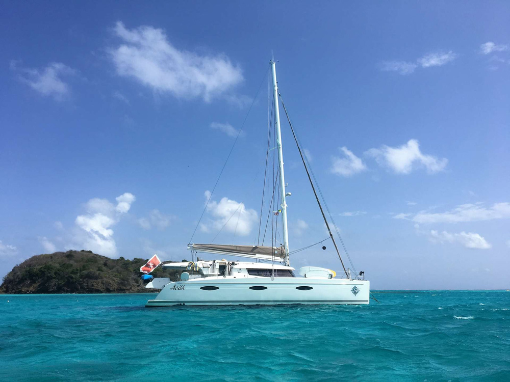 sailing yacht charters virgin islands