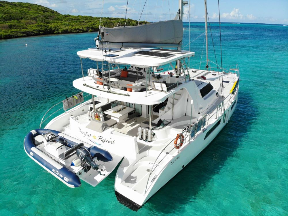 Barefeet Retreat Crewed Catamaran Charter