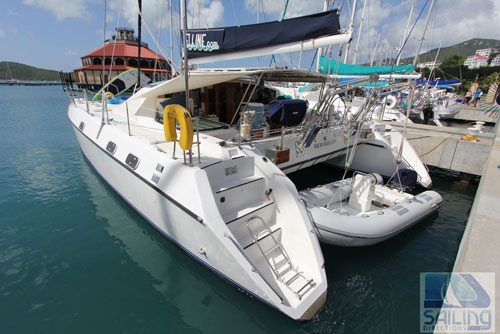 Belline II Crewed Catamaran Charter