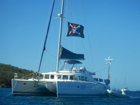 Black Pearl Crewed Catamaran Charter
