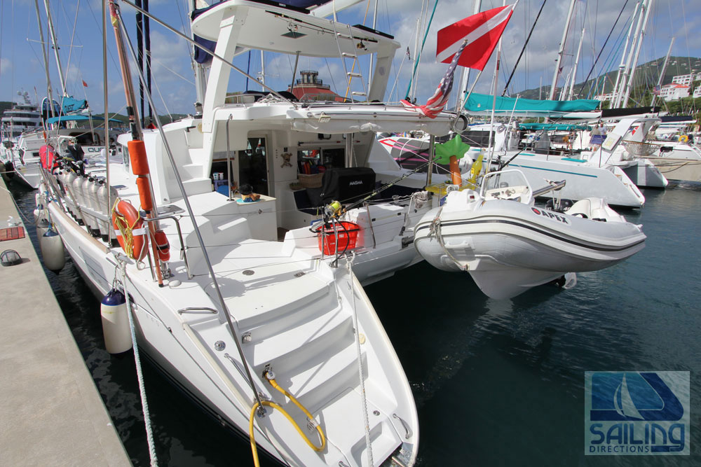 Black Pearl | Crewed Catamaran Charter Virgin Islands | View