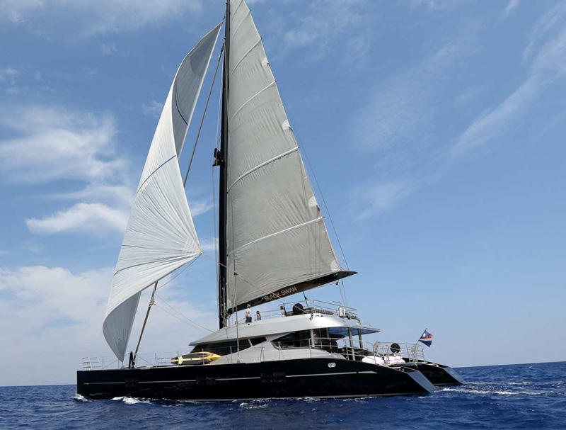 Black Swan Crewed Yacht Charter