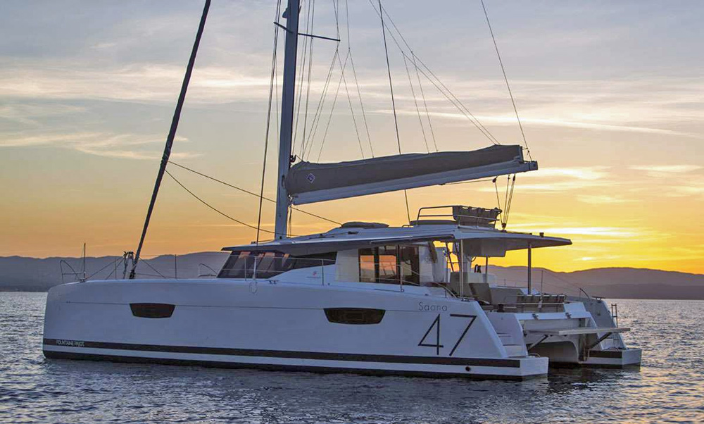 Black Tortuga Crewed Catamaran Charter